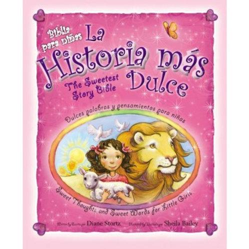 Biblia para niñas la historia más dulce, Bilingüe