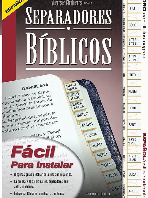 Separadores bíblicos