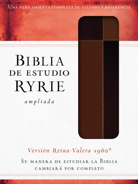 Biblia De Estudio Ryrie Ampliada RVR 1960, Con Índice