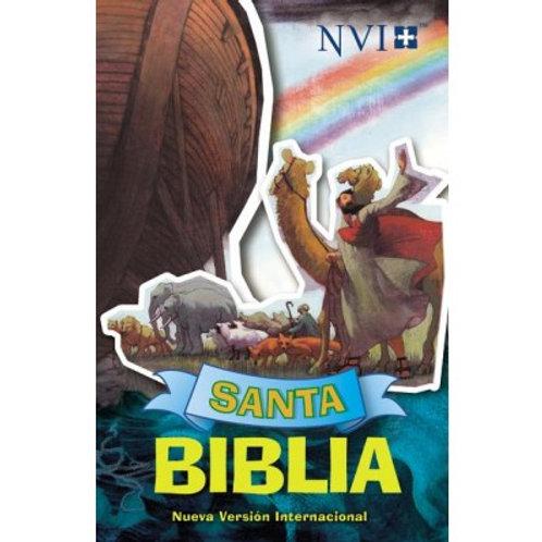 Biblia para niños tapa rústica NVI
