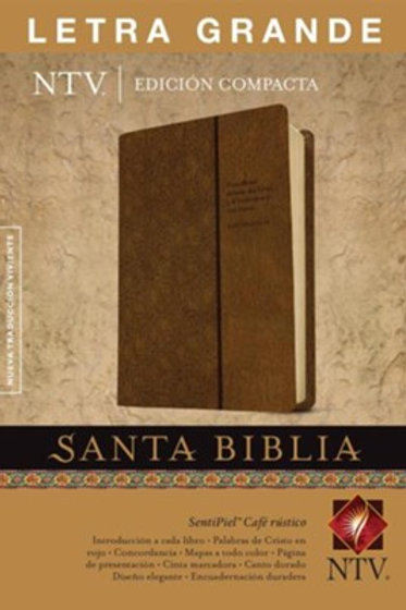 Biblia Compacta NTV, Imitación Piel Café