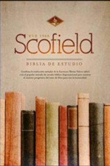 Biblia de estudio Scofield RVR 1960, Símil Piel Verde Bosque/Café