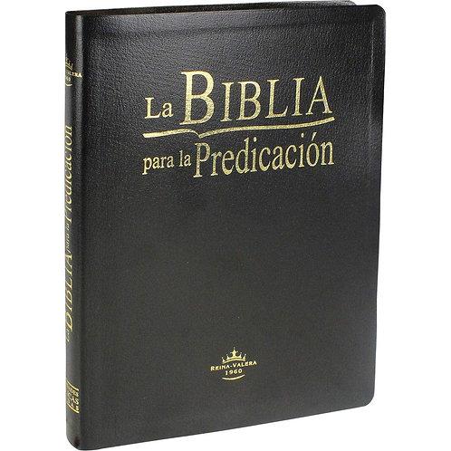 Biblia para la predicación Piel negro Reina Valera 1960