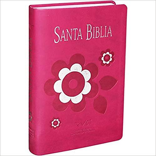 Biblia para mujer tamaño manual RVC