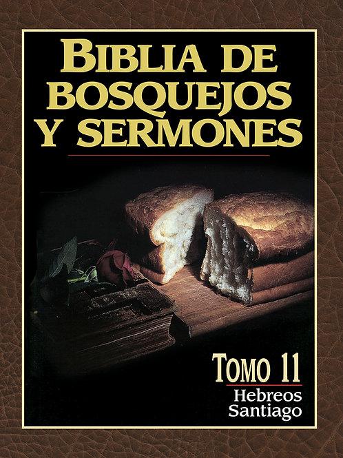 Biblia de bosquejos y sermones: Hebreos y Santiago