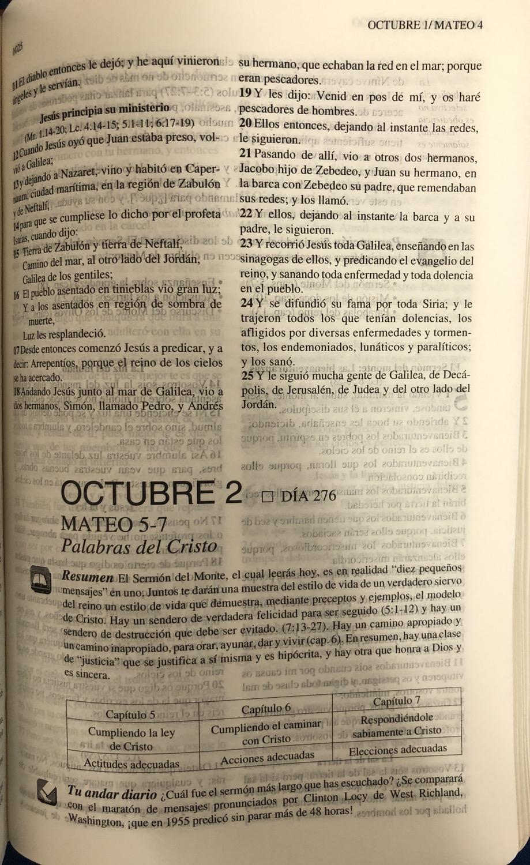 Thumbnail: Biblia Tu andar diario imitación piel aqua RVR 1960