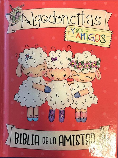 Biblia Algodoncitas, RVR 1960, Tapa dura rosa