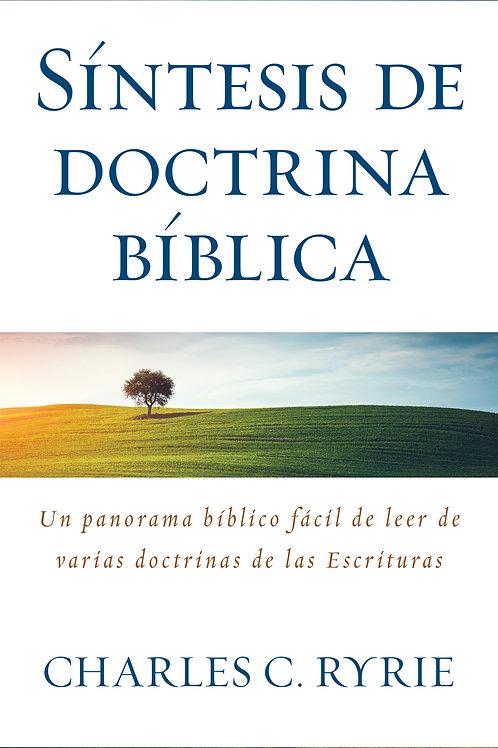 Síntesis de doctrina bíblica