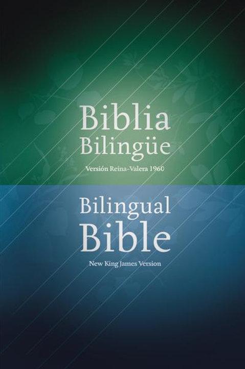 Biblia Bilingüe RVR 1960 / NKJV, Tapa Dura