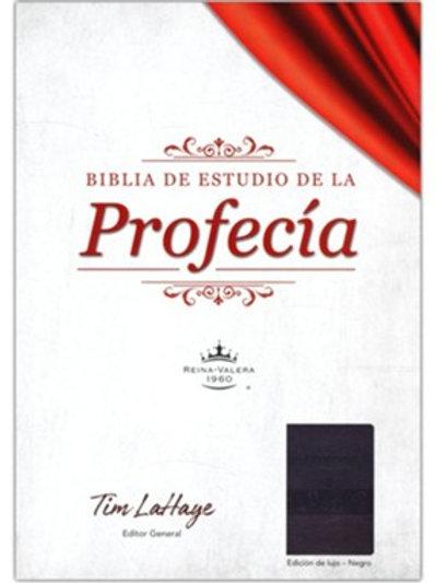 Biblia De Estudio De La Profecía RVR 1960, Imitación Piel Marrón Con Índice