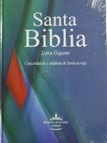 Biblia letra gigante tapa dura RVR 1960
