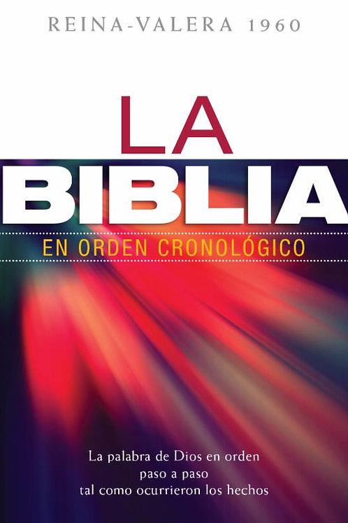 Biblia en orden Cronológico tapa dura RVR 1960