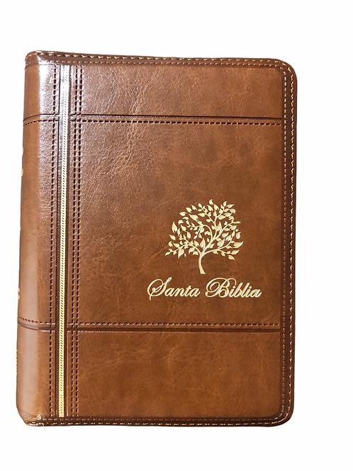 Biblia Tamaño Bolsillo RVR 1960, Imitación Piel Con Zipper