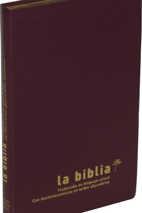Biblia TLA Con Deuterocanonicos, Imitación Piel