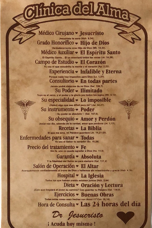 Clínica del alma (Pergamino)