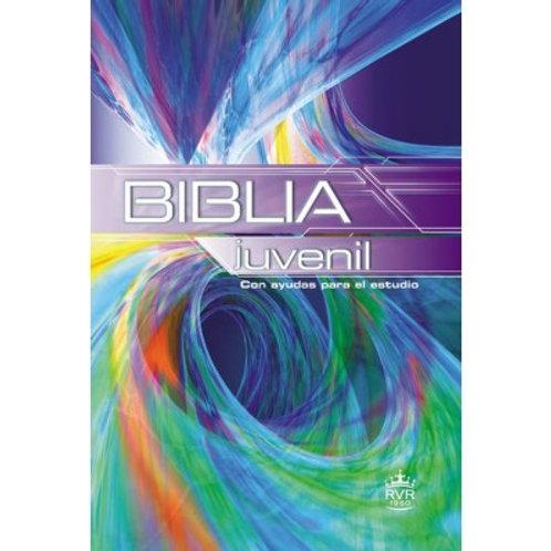 Biblia Juvenil RVR 1960, Tapa Dura Multicolor