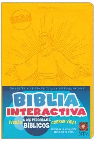 La gran historia: Biblia interactiva NTV, Símil Piel Amarillo