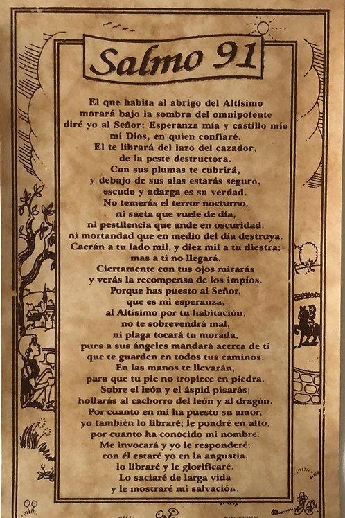 Salmo 91  (Pergamino)
