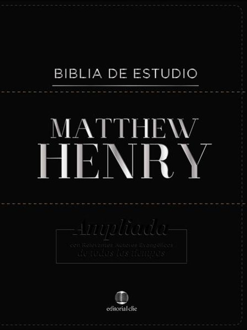 Biblia de Estudio Matthew Henry, Piel fabricada