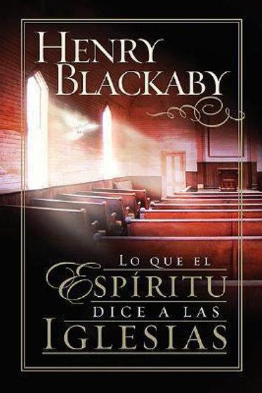 Lo que el Espíritu dice a las iglesias