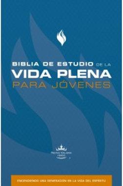 Biblia De Estudio De La Vida Plena Para Jóvenes RVR 1960, Tapa Dura