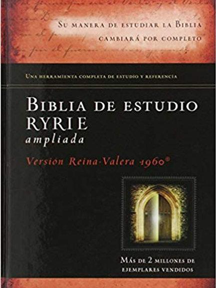 Biblia de estudio Ryrie Pasta dura RVR 1960