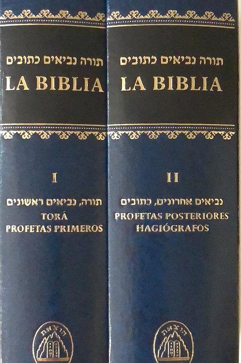 Biblia Hebreo-Español Pasta dura