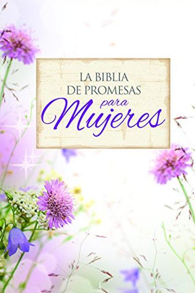 Biblia De Promesas Letra Grande RVR 1960, Piel Especial Floral