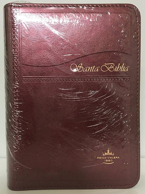 Biblia tamaño bolsillo con índice y cierre RVR 1960