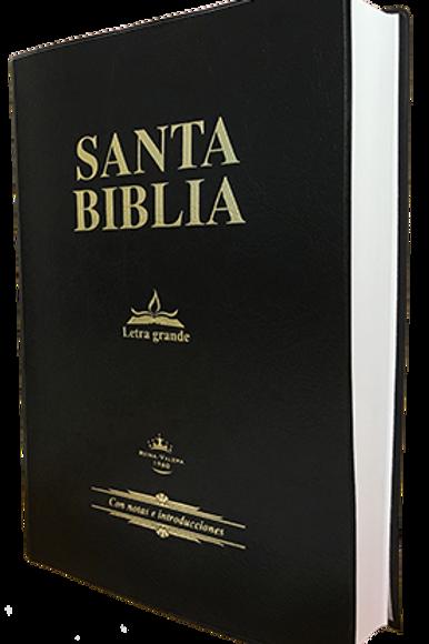 Biblia Letra Grande tapa de vinilo RVR 1960