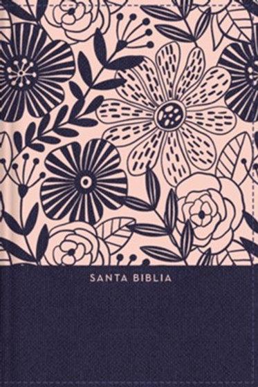 Biblia Letra Grande Tamaño Compacto RVR 1960, Tapa Dura Con Índice