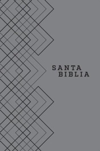Biblia NTV, Edición ágape, imitación piel gris