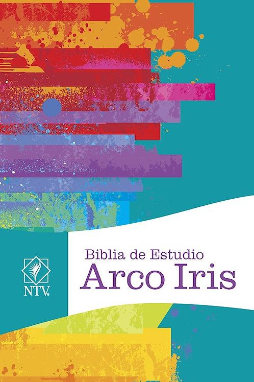 Biblia de Estudio Arco Iris NTV, Tapa Dura con índice