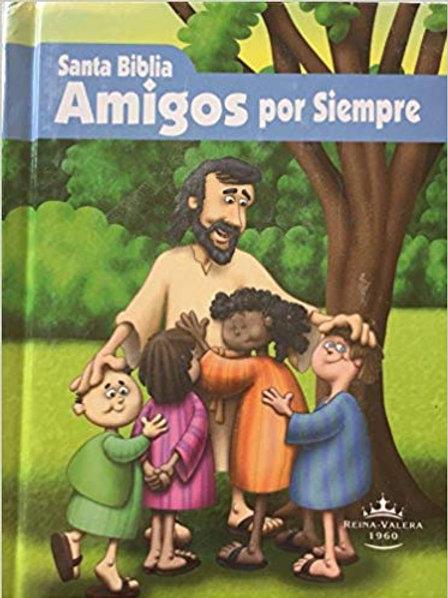 Biblia Amigos por siempre Niños Reina Valera 1960