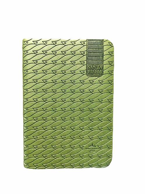 Biblia Tamaño Bolsillo RVR 1960, Imitación Piel Verde