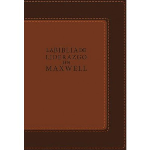 Biblia de liderazgo de Maxwell Piel italiana RVR 1960