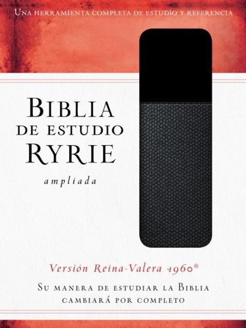 Biblia de estudio Ryrie ampliada piel italiana RVR 1960