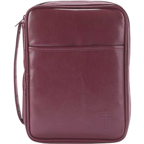 Bible case thinline Red leather