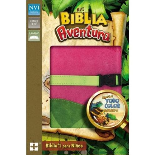 Biblia aventura piel de dos tonos NVI