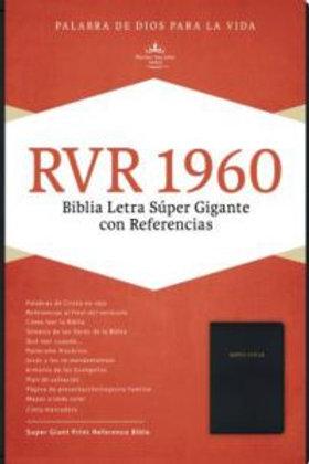 Biblia Letra Súper Gigante, negro imitación piel RVR 1960