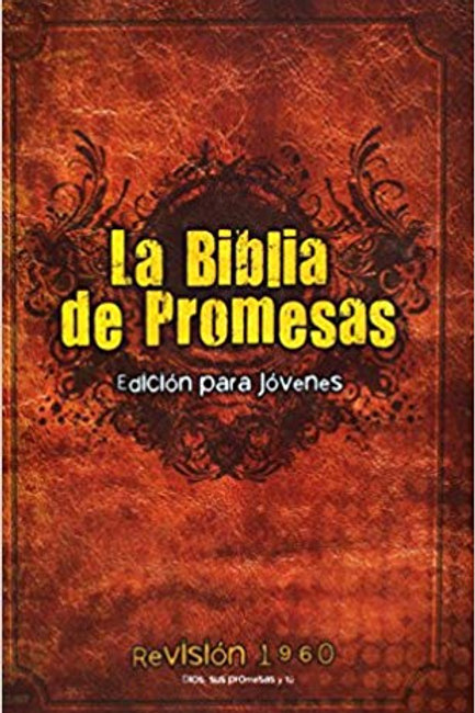 Biblia de promesas para jóvenes Tapa Dura RVR 1960