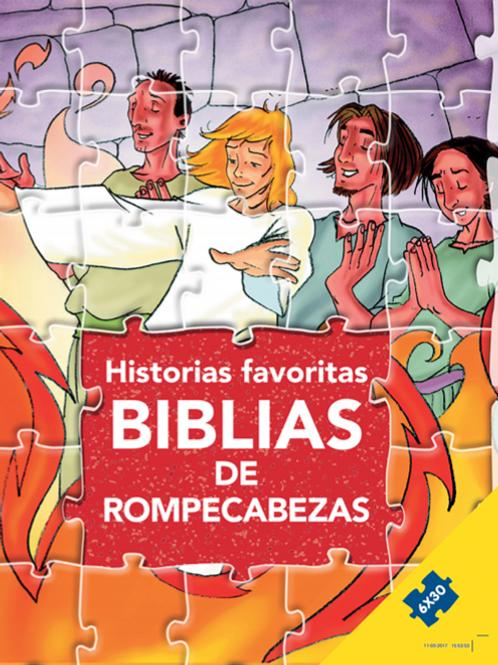 Biblias de Rompecabezas- Historias Favoritas