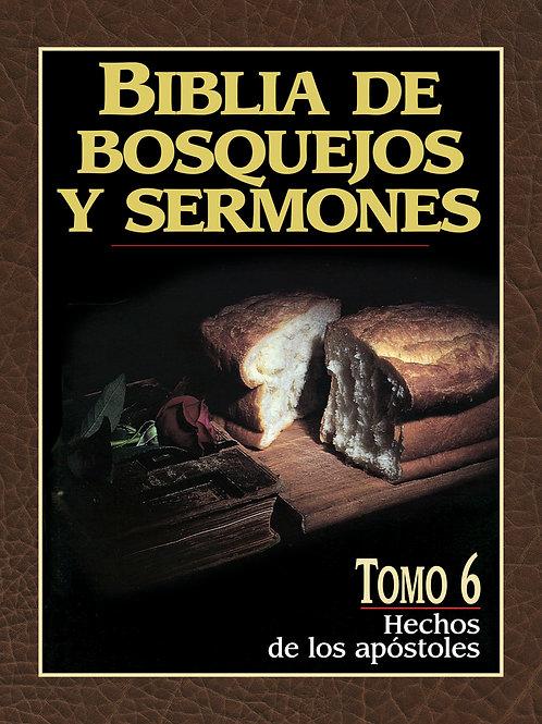 Biblia de bosquejos y sermones: Hechos