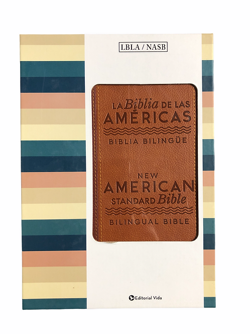 Biblia Bilingüe De Las Americas, Piel Italiana