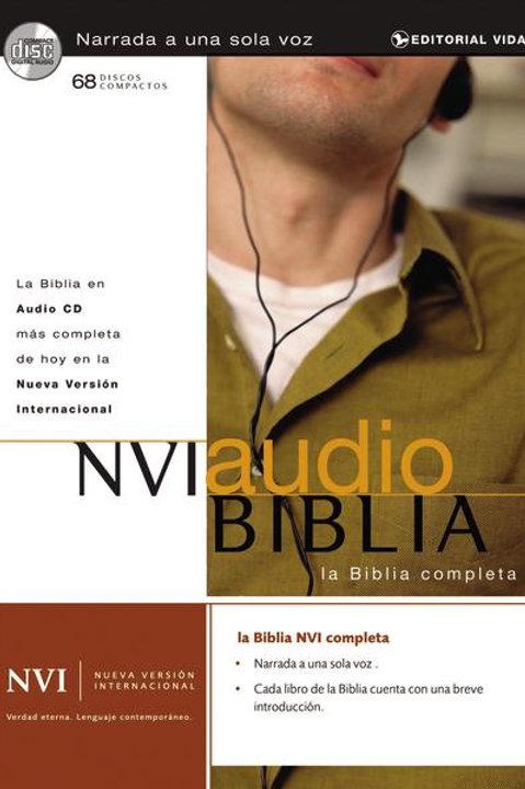 Biblia en audio NVI (Compact Disc)
