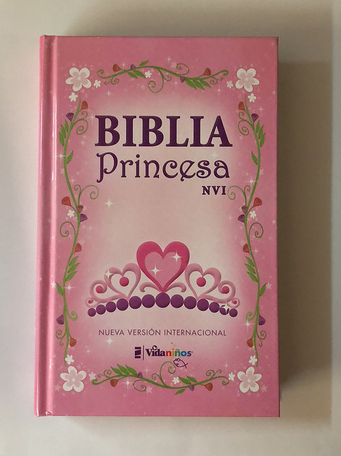 Biblia princesa NVI tapa dura sin índice