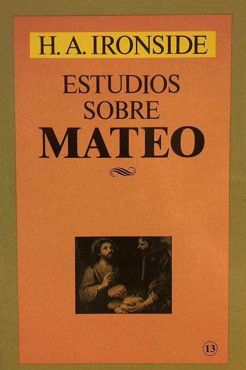 Estudios sobre Mateo