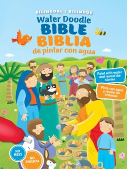 Biblia De Pintar Con Agua, Bilingüe