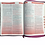 Thumbnail: Biblia Letra Súper Gigante RVR 1960, Referencias Inmediatas, Imitación Piel Rosa