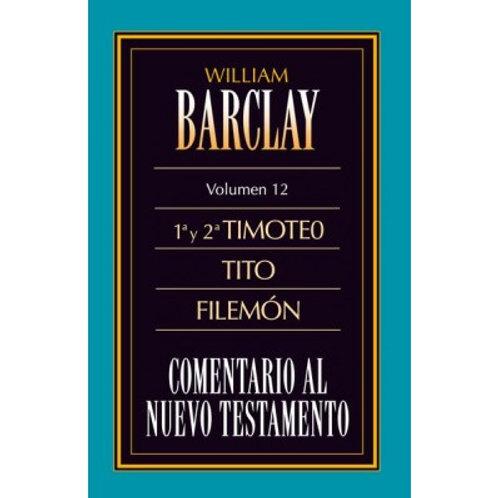 Comentario 1y 2 Timoteo,Tito y Filemon Vol.12